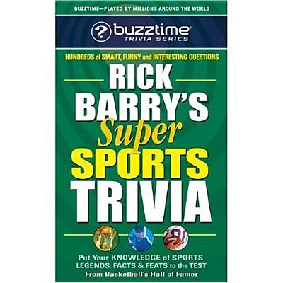 Rick Barry's Super Sports Trivia Game By Barry, Rick