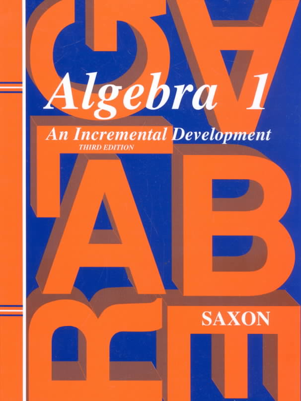 Algebra 1 By Saxon, John H., Jr.